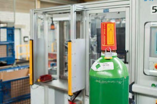 Dispositivo De Bloqueo Con Candado Para Válvulas De Gas Presurizado