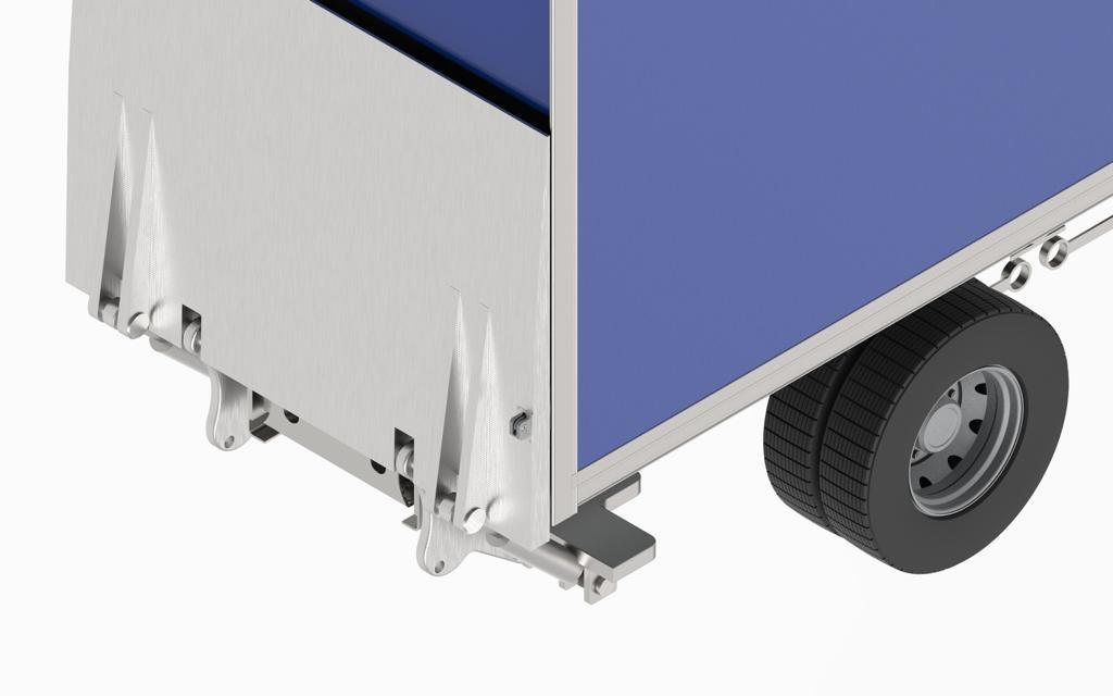 Candado SAG PLT Para Vehículos Con Plataformas
